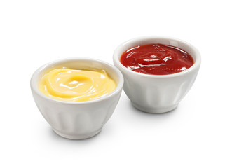Maionese e ketchup