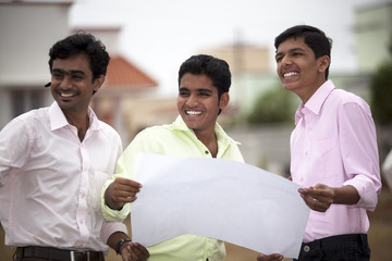 Young indian students