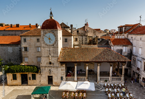 Church of Saint Sebastian in the Center of Trogir, Croatia
