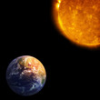 Earth and Sun, Global warming