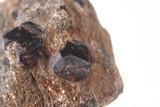 natural pyrope garnet minerals (gems) poster