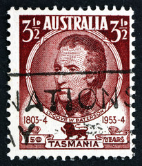 Postage stamp Australia 1953 William Paterson, Lieutenant Govern