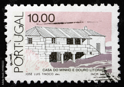 Postage stamp Portugal 1987 Transmontanas, Traditional Architect