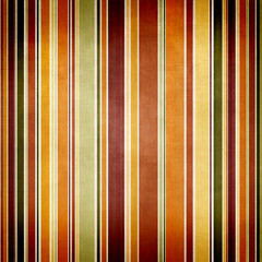 Abstract  paper background with vertical stripes in green and br