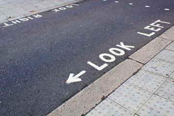 Fußgängerüberweg in England