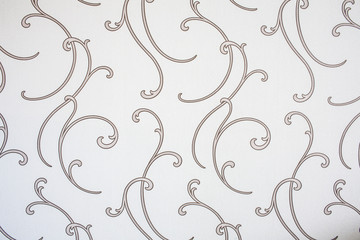 Vintage swirl wallpaper