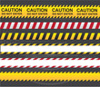 Caution ribbon