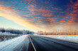 Winter road - 51593443