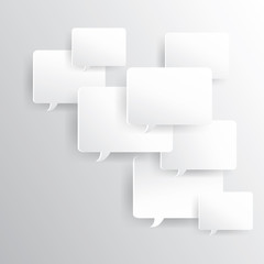 message board with shadow, created by vector