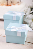 Blue giftbox