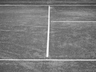 Tennis Platz Linien 89