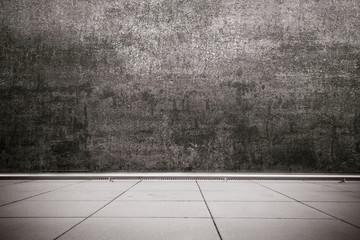 fondo acciaio e cemento
