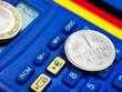 Euro und Deutsche Mark