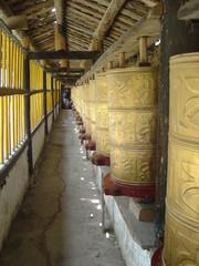 xiahé china chine temple rouleau de prière