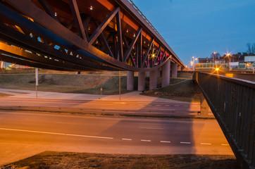 Gerosios Vilties Viaduct in Vilnius