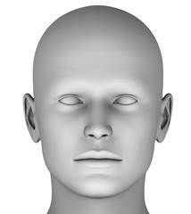 M3 Man´s Head virtual HiRes Raytraced