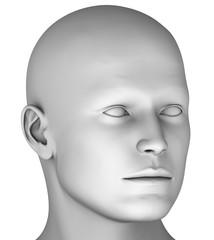 M7 Männerkopf virtuell HiRes raytrayced
