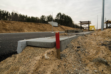 Construction of West Roundabout Way in Vilnius