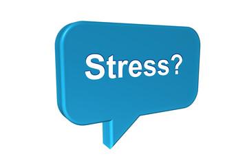 Stress - Konzept Entspannung