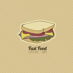 retro fast food