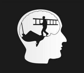 Baustelle im Kopf