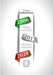 Elezioni Presidente repubblica italiana Giorgio Napolitano