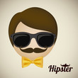 hipster illustration