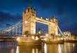 Tower Bridge of London built in 1894, UK