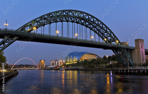 Newcastle Bridge and Quayside