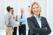 Leinwandbild Motiv Mature Businesswoman