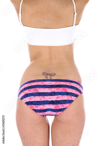 Model Released. Wearing Bikini Bottoms