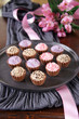 cupcake pralinen erdbeere, mocca und lavendel