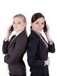Geschäftsfrauen mit Handy