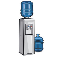 Electric water cooler