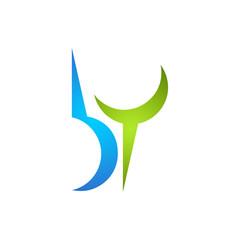 B. Y. Company Logo