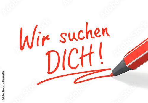 Stift- & Schriftserie: Wir suchen DICH!