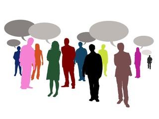 speaking people