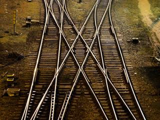 Railway cross-junction