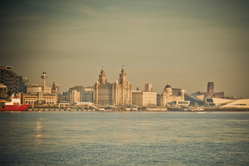 Hazy Liverpool