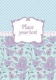 Scrapbook vintage background