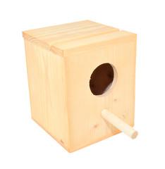 Nido de madera para aves