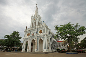 Catholic church in Samut Songkhram, Thailand