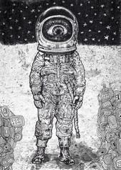 amazement astronaut