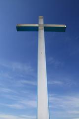 Croce stagliata nel cielo
