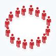 businessman circle
