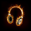 Headphone on Fire