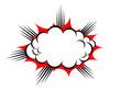 Vector explosion icon