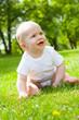 baby im park