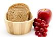 Toastbrot mit Obst