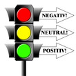 Ampel - Negativ - Neutral - Positiv